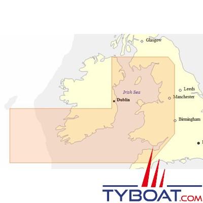 Carte C-MAP NT+ Wide W+41 (EW-C207) Bristol Channel and Irish Sea