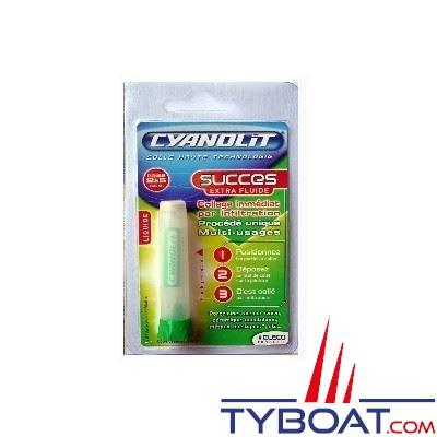 Colle Cyanolit Succes extra fluide 2g. multi-usages