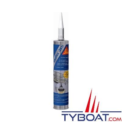 Colle mastic polyur thane sikaflex 291i cartouche 300 ml blanc sika sik291bc tyboat com - Mastic colle polyurethane ...