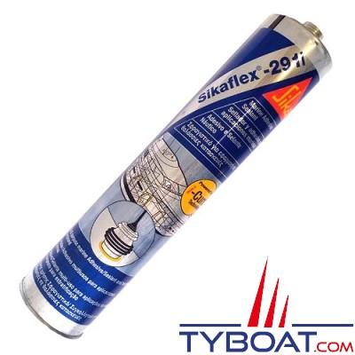 Colle mastic polyuréthane Sikaflex 291i cartouche 300 ml blanc