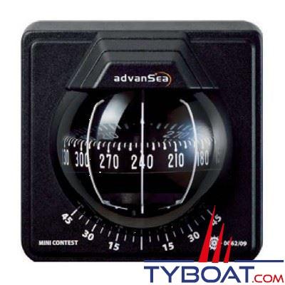 Compas Advansea Mini-Contest cloison verticale - noir rose noire