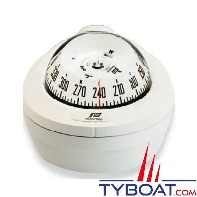 Compas Plastimo Offshore 75 mini-fût - blanc rose blanche