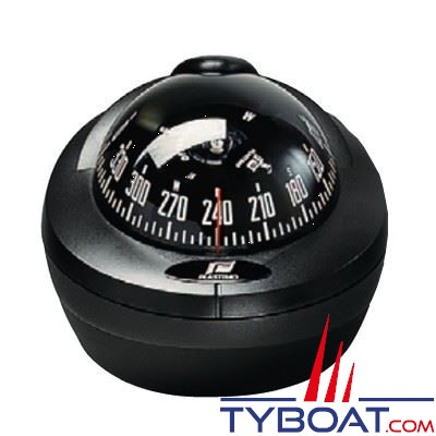 Compas Plastimo Offshore 75 mini-fût - noir rose noire