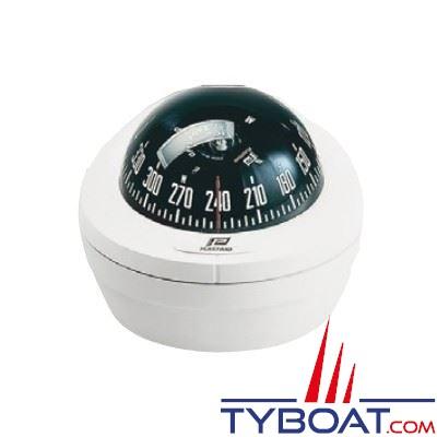 Compas Plastimo Offshore 75 mini-fût sans éclairage - blanc rose noire