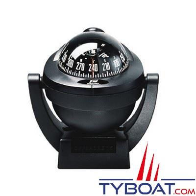 Compas Plastimo Offshore 75 sur étrier - noir rose noire
