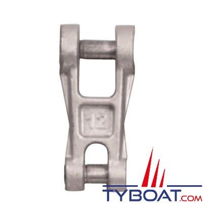 Connecteur chaîne-ancre Plastimo acier galvanisé pour chaîne Ø 12 mm