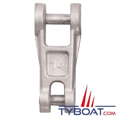 Connecteur chaîne-ancre Plastimo acier galvanisé pour chaîne Ø 14 mm
