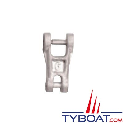 Connecteur chaîne-ancre Plastimo acier galvanisé pour chaîne Ø  6 mm