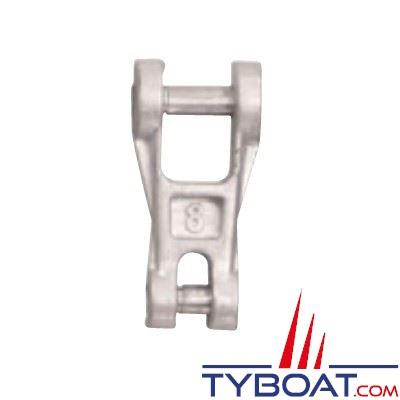 Connecteur chaîne-ancre Plastimo acier galvanisé pour chaîne Ø  8 mm