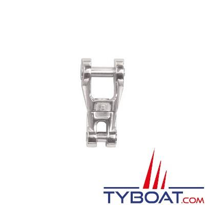 Connecteur chaîne-ancre Plastimo inox à émerillon pour chaîne Ø  8 mm