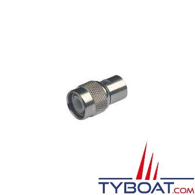Connecteur RA156 Glomex TNC mâle pour RG58C/U