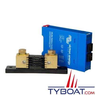 VICTRON ENERGY - Contrôleur de batterie VE.Net 12/24/48Vdc avec shunt 500 Ampères.