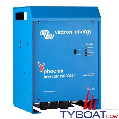 VICTRON ENERGY - Convertisseur de tension Phoenix 12 Volts 3000VA (2500 Watts) 230 Volts pur sinus.