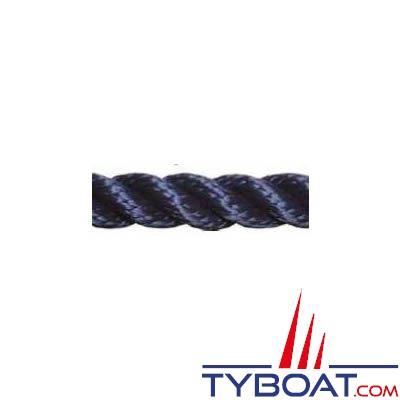 Cordage polyamide haute ténacité  Meyer-Sansboeuf M-S 211 3 torons Ø  8 MM longueur 100 mètres BLANC