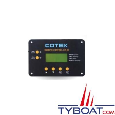Cotek CR-20C - Panneau de commande à distance pour série SC