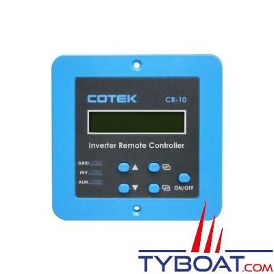 COTEK - IC390 - Panneau de commande à distance 12/24 Volts avec affichage