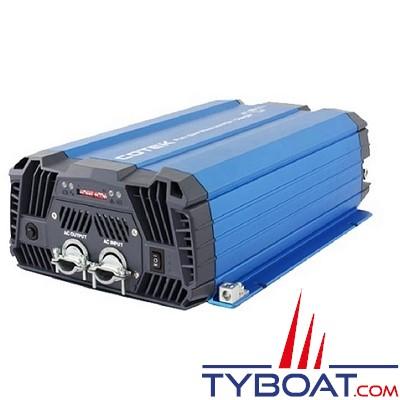 Cotek SC-1200 - Combiné chargeur-convertisseur 12VDC/230VAC 1200VA 50A