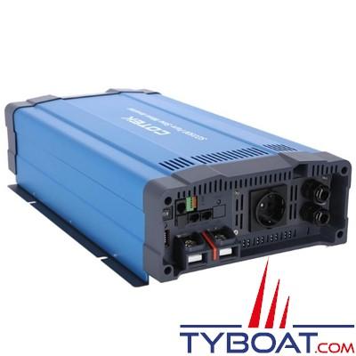 Cotek SD-3500 - Convertisseur pur sinus avec relais de transfert intégré - 230 volts - 3500 Watts - 12 volts