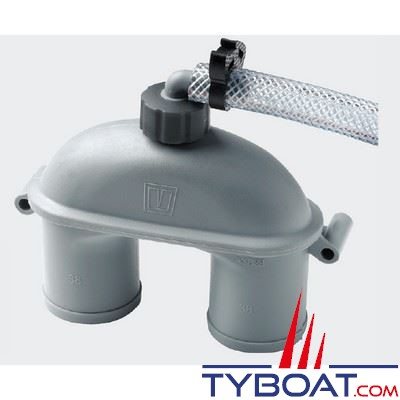 Coude anti-siphon Vetus ASD38H avec tuyau pour tuyau Ø 38mm