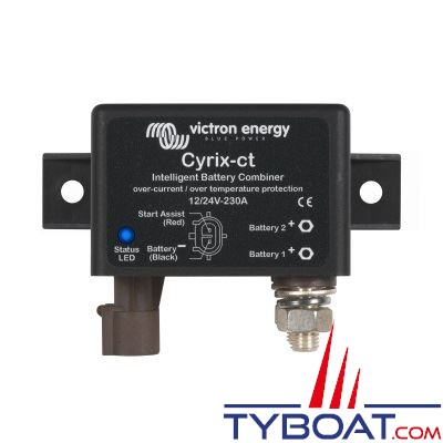 VICTRON ENERGY - Coupleur de batteries automatique CYRIX-CT 12/24V - 230A.