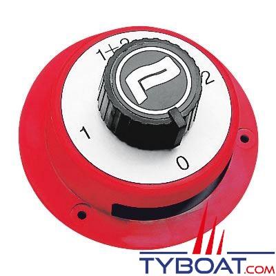 Commutateur de batterie Plastimo 4 positions 150A 12V