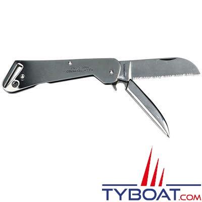 Mac - Couteau  Clipper démanilleur tout inox 18,5 cm