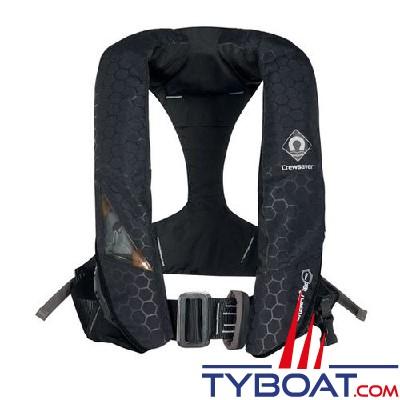 CREWSAVER - Gilet de sauvetage  automatique CREWFIT 180N PRO + avec harnais, flashlight, capuche