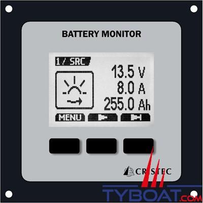 Cristec - Moniteur de batterie numérique JBNUM version II