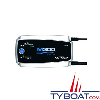 CTEK - Chargeur de batterie marine M300 - 12 Volts 25 Ampères