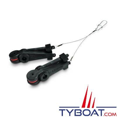 Déclencheur double Cannon Uni -Stacker pour treuil de pêche