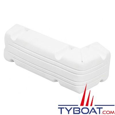 PLASTIMO - Défense d'angle pour ponton - Pliable - Blanc