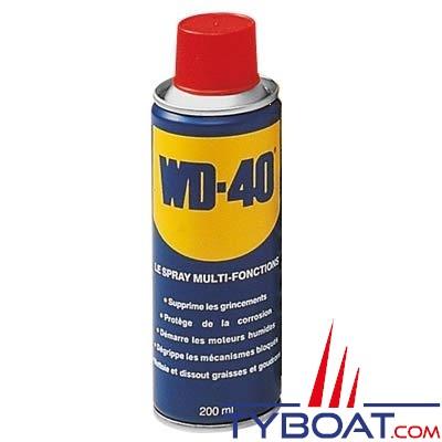 Dégrippant et lubrifiant WD40 pulvérisateur 200 ml