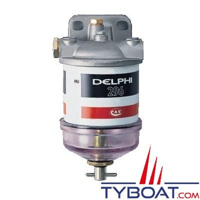 DELPHI - Filtre séparateurs - < 200 CV / < 2500 cm3 - 50 L/h - 10 µ Diesel ou essence - Inboard ou HB