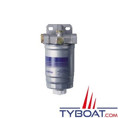 DELPHI - Filtre séparateurs - < 300 CV / < 3500 cm3 - 80 L/h - 10 µ Diesel ou essence - Inboard ou HB