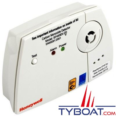 Détecteur de monoxyde de carbone Honeywell SF450