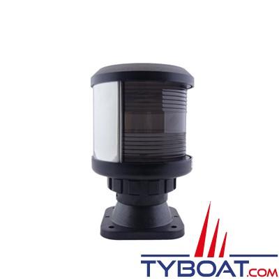 DHR - Feu de navigation série 35  - fixation sur base V -Feu de mat - hune blanc - Secteur 225° - Visibilité 3Nm