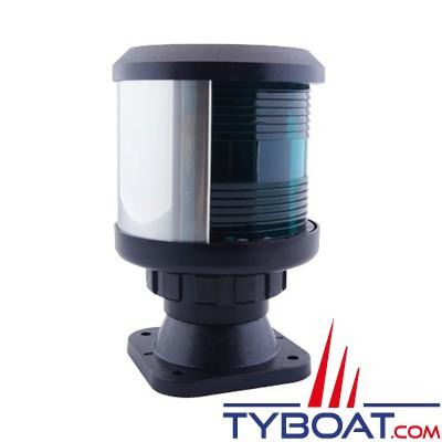 DHR - Feu de navigation série 35 fixation sur base V - Tribord vert - Secteur 112,5° - Visibilité 2Nm