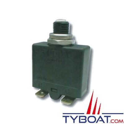 Disjoncteur ETA type 1658 thermique unipolaire réarmable 12/24/240v 25A