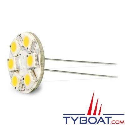 Dixplay - Ampoule G4 9 Leds 8-35 Volts 1,5 Watts blanc chaud vertical