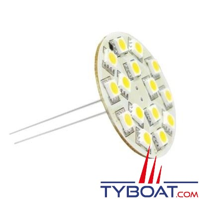 Dixplay - Dixplay - Ampoule G4 21 Leds 8-35 Volts 2,5 Watts blanc chaud vertical