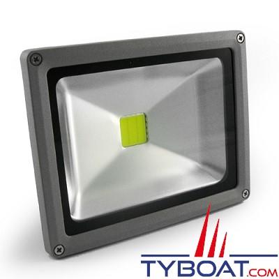 Dixplay- Projecteur de pont led - 30 watts - Blanc neutre - 12-24 volts