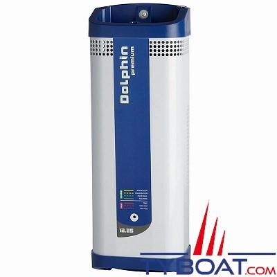 Dolphin - Chargeur de batterie PREMIUM 12 Volts 25A 3 sorties 230V