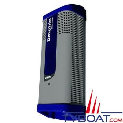 Dolphin - Chargeur de batterie PREMIUM 24 Volts 20A 3 sorties 115/230V