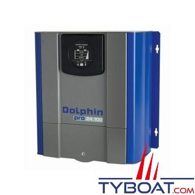 Dolphin - Chargeur de batterie PRO 24 Volts 100A 3 sorties 230V