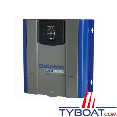 Dolphin - Chargeur de batterie PRO 24 Volts 40A 3 sorties 115/230V