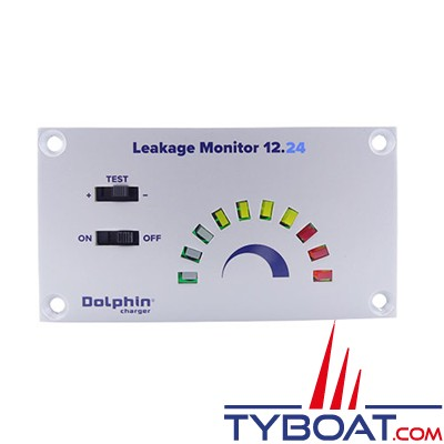 Dolphin - LEAKAGE MONITOR 12.24 - Testeur de fuite électronique pour bateau métallique - 12/24 Volts