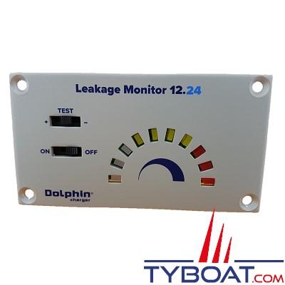 Dolphin - Testeur de fuite électronique pour bateau métallique - 12/24 Volts