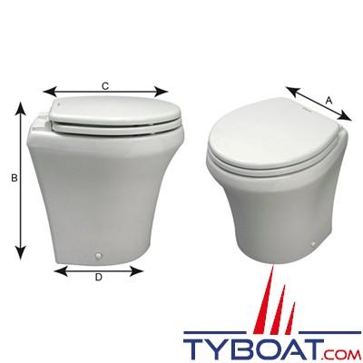 Dometic Sealand MasterFlush MF 8152 - Toilettes à macérateur électriques - hauteur standard - 12 Volts