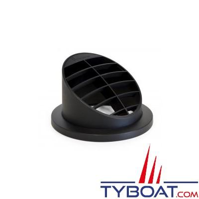 EBERSPACHER - Diffuseur noir orienté 30° pour chauffage - Ø 60mm