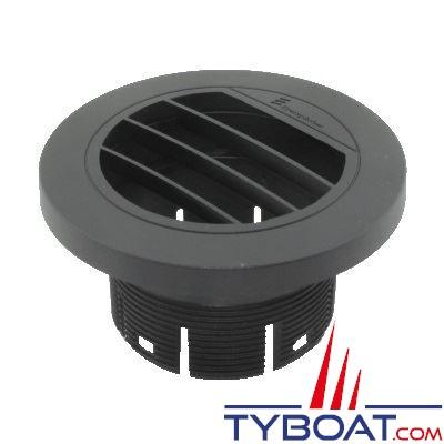 Eberspächer - Diffuseur orientable 30° noir plat pour chauffage Ø 60mm
